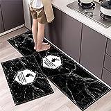 Alfombrillas de Cocina para decoración del hogar, alfombras Antideslizantes absorbentes para baño, alfombras de Entrada para el Dormitorio de la Sala de Estar del hogar A1 40x60cm