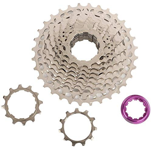 Alomejor ZTTO Road Bike Freewheel Cassette Sprocket 11 Speeds 28T/32T/34T/36T Bicycle Replacement Accesso(11S 28T)