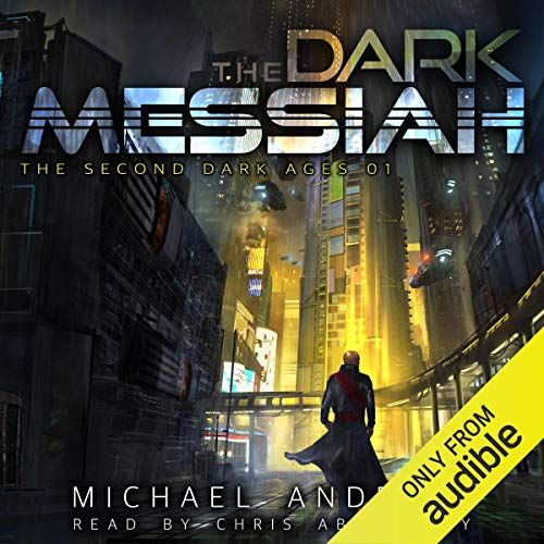 The Dark Messiah audiobook cover art