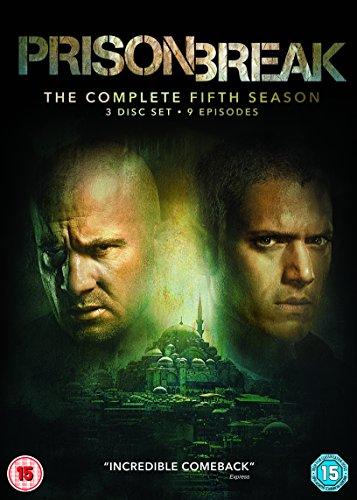 Prison Break Komplette Staffel / Season 5 [3 DVDs] *NEU* Series 5 DVD Englisch