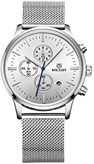 Megir Casual Watch For Men Analog Stainless Steel - 2011Mx