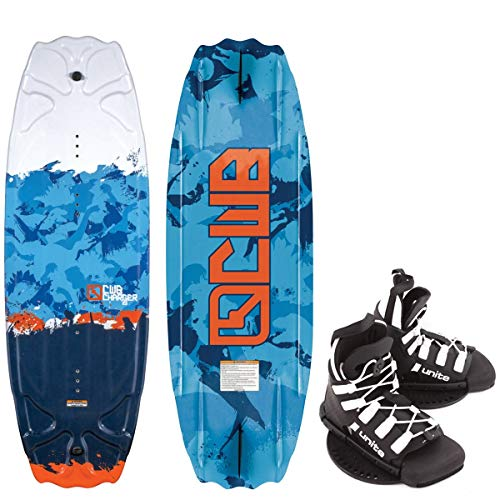 CWB Charger Kinder Wakeboard 119cm Junior Wakeboard-Set Bindung