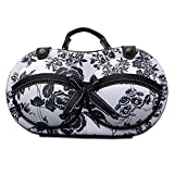 Bra & Lingerie Travel Case - Bra Organizer Storage Bag - For Bra Sizes 30A-36C (30A - 36C, Tosca)