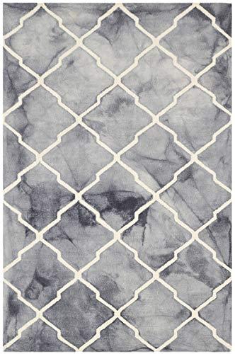 Bakero Teppich, Wolle, Grau, 244 x 153 x 1.5 cm