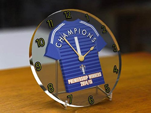 MyShirt123 Chelsea FC Football Club – Bar Clays Premier League Vincitori 2014/15 Orologio Desktop gedenkmuenze – Champions 2015