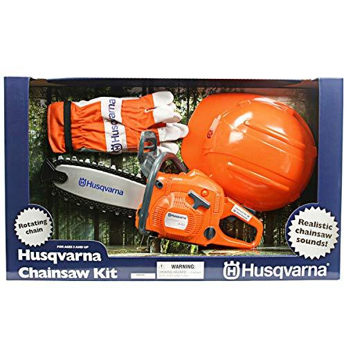 Fercad S.P.A. Husqvarna Kinders?ge Set Mit Helm Und Handschuhe-Kinders?gen Spielset