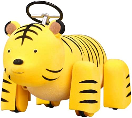 ex ride ride.010  Animal Cars Tiger (PVC Figure)