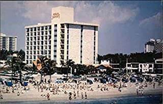 Howard Johnson's Oceans Edge Resort Fort Lauderdale, Florida Original Vintage Postcard