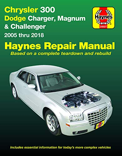 Chrysler 300 & Dodge Charger, Magnum & Challenger ('05-'18) (Hayne's Automotive Repair Manual)