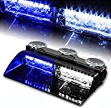 WoneNice 16 LED High Intensity LED Law Enforcement Emergency Hazard Warning...