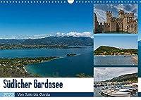 Suedlicher Gardasee - Von Salo bis Garda (Wandkalender 2022 DIN A3 quer): Fotos aus Manerba, Salo, Sirmione, Deszenzano und Garda (Monatskalender, 14 Seiten )