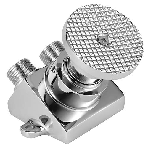 Válvula de pedal único de montaje en piso, válvula de interruptor de control de pedal de cobre de rosca G1 / 2 para grifo de agua de fábrica de laboratorio de hospital
