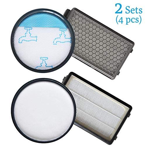 Queta 2pcs Kit de Filtro de Espuma y Filtros HEPA para