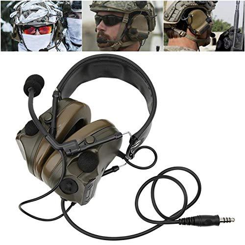 DAUERHAFT Auriculares con micrófono a Prueba de Agua, Auriculares de Caza, Material...