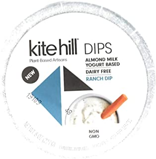 Kite Hill, Dip Ranch Plant Based, 8 Ounce