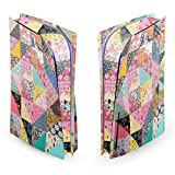 Head Case Designs Officially Licensed Rachel Caldwell Quilt Art Mix Matte Vinyl Faceplate Sticker Gaming Skin Case Cover Compatible With Sony PlayStation 5 PS5 Disc Edition Console