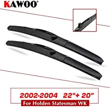 Wipers Hukcus For Holden Statesman WH WK WL WM 1999 2000 2001 2002 2003 2004 2005 2006 2007 2008 2009 2010 Car Natural Wiper Blades - (CN, Color: WK 200-2004 2220)
