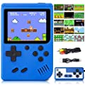 Handheld Game Console, Retro Game Console with 500 FC Games, 3 inch HD LCD Screen Retro Mini Game Player Support for Connecting TV & Two Players 1020mAh Rechargeable Battery Present for Kids and Adult from Belita Amy
