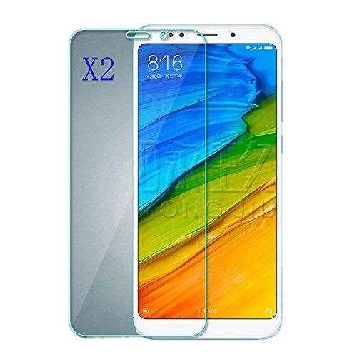 Kepuch 2 Pacotes Vidro Temperado Protetor de Tela para Xiaomi Redmi 5Plus/Not