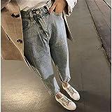 LLan 2020 Pantalones Vaqueros Rasgados Conventional, Size : X-Large