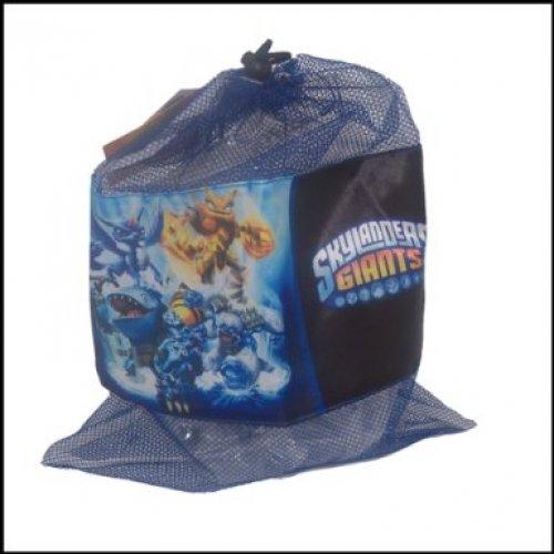 Skylanders Giants Mesh Drawstring Bag PE Gym Swimming Toys 33cm x 41