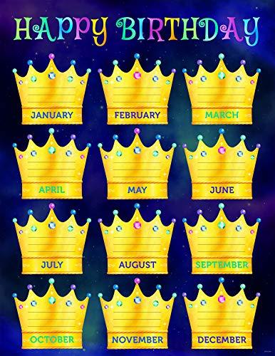 Creative Teaching Press Mystical Magical Happy Birthday Chart, CTP 8628