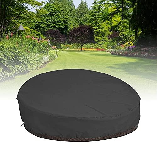 ZDYLM-Y Funda Redonda para sofá Cama, 210D Oxford Impermeable Durable UV Resistente al Agua Anti-decoloración Funda para sofá para Varias Personas