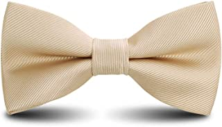 Men`s Bow Ties Classic Pre-tied Adjustable for Boy in Gift Box Ties,by Anrinwei