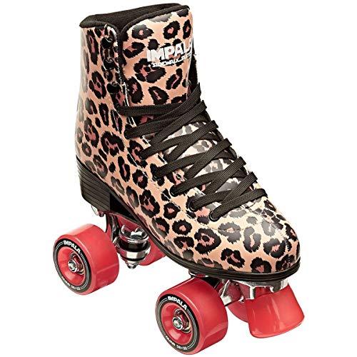 Impala Sidewalk Skates Rollerskates Quad Leopard US 9