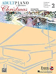 Piano Lessons Birmingham - Faber Adult Piano Adventures Level 2 Christmas Book