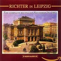 Richter in Leipzig: Piano Sonatas
