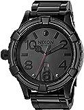 Nixon Men's '51-30 SW, Vader' Quartz Stainless Steel Casual Watch, Color:Black (Model:...