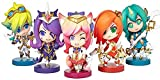 Hand Doll Statue,Character Model Star Guardian Character Sculpture,Desk Accessories,A Game Statue WYYHYPY (Color : A)