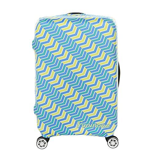 """Hzjundasi Creativo Antipolvere Viaggio Valigia Baggage Zipper Borsa Bagaglio Protettore Copertina 18""""-32"""""""