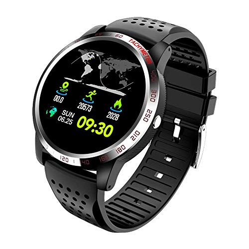 TIANYOU Pulsera Inteligente 1,3 Pulgadas Hd Pantalla Hd Ip67 Inforión Impermeable Recordatorio Multi-Sports Reloj Impermeable Moda/Negro