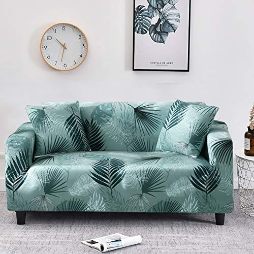 WXQY Fundas con patrón Cruzado Funda de sofá elástica elástica Funda de sofá con protección para Mascotas Funda de sofá con Esquina en Forma de L Funda de sofá con Todo Incluido A28 3 plazas