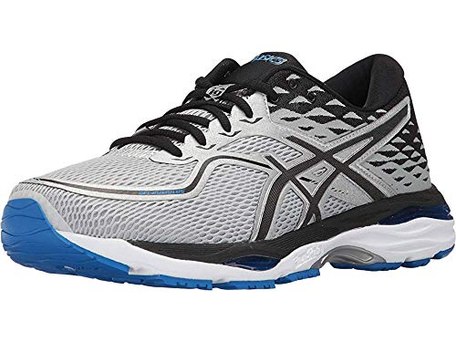 ASICS Men's Gel-Cumulus 19 Running Shoe, Grey/Black/Directoire Blue,...