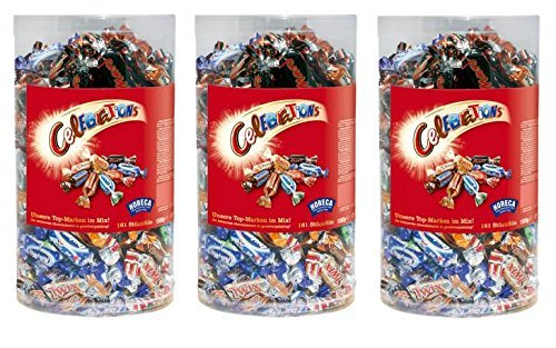 3 x CELEBRATIONS BOX 1,5 KG