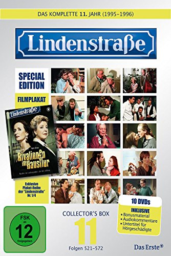 Lindenstraße - Das komplette 11. Jahr (Ltd. Edition mit Filmplakat) (10 DVDs)