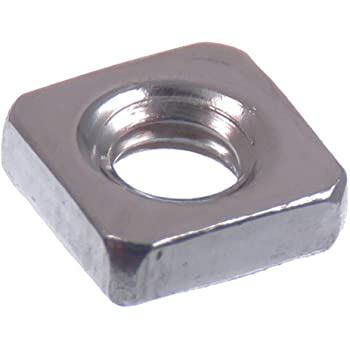 2 St/ück V2A Edelstahl A2 Vierkantmuttern niedrige Form SC562 - DIN 562 SC-Normteile/® - Einlegemutter - M5 -