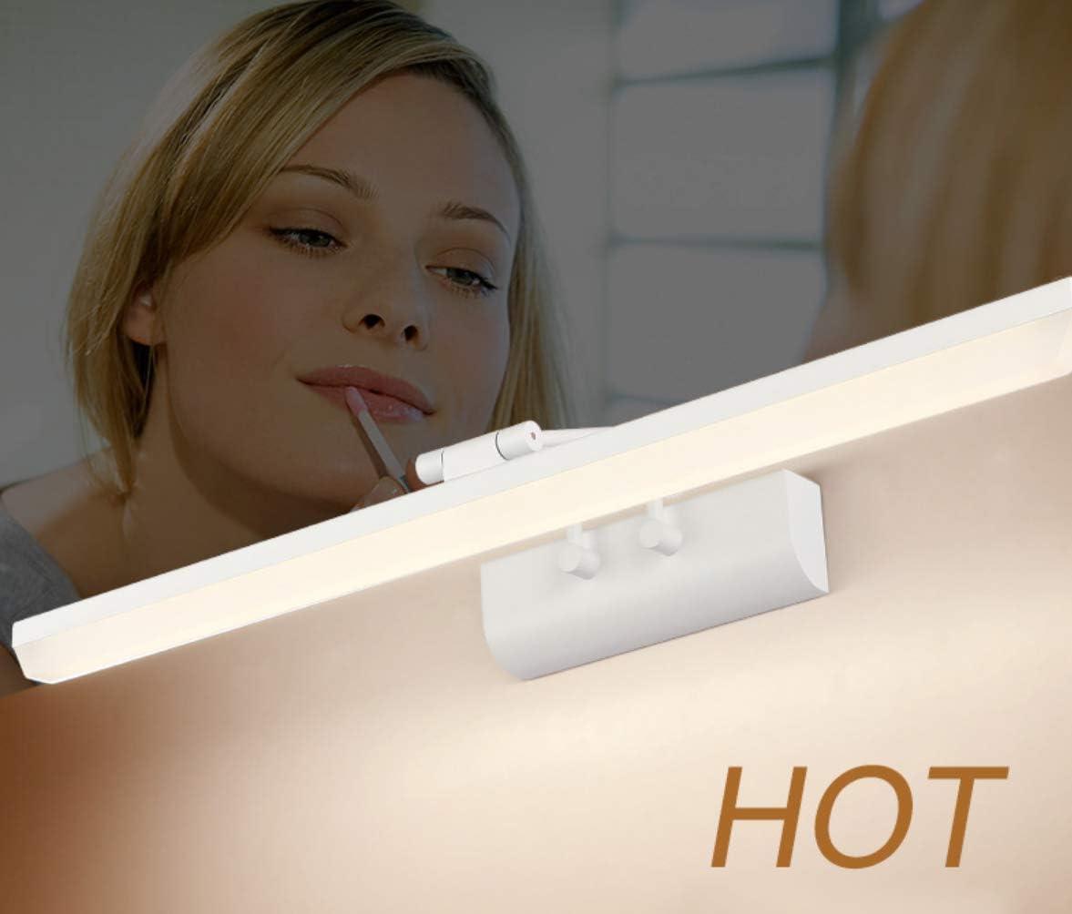 UMOOIN Schrankleuchte, Schminktisch Mit Beleuchtung, Schminklampe, LED Spiegelleuchte, 6200K Badleuchte, Schminklicht, Badezimmer,Aufbauleuchte, Schrankbeleuchtung,12w/51cm 9w/41cm