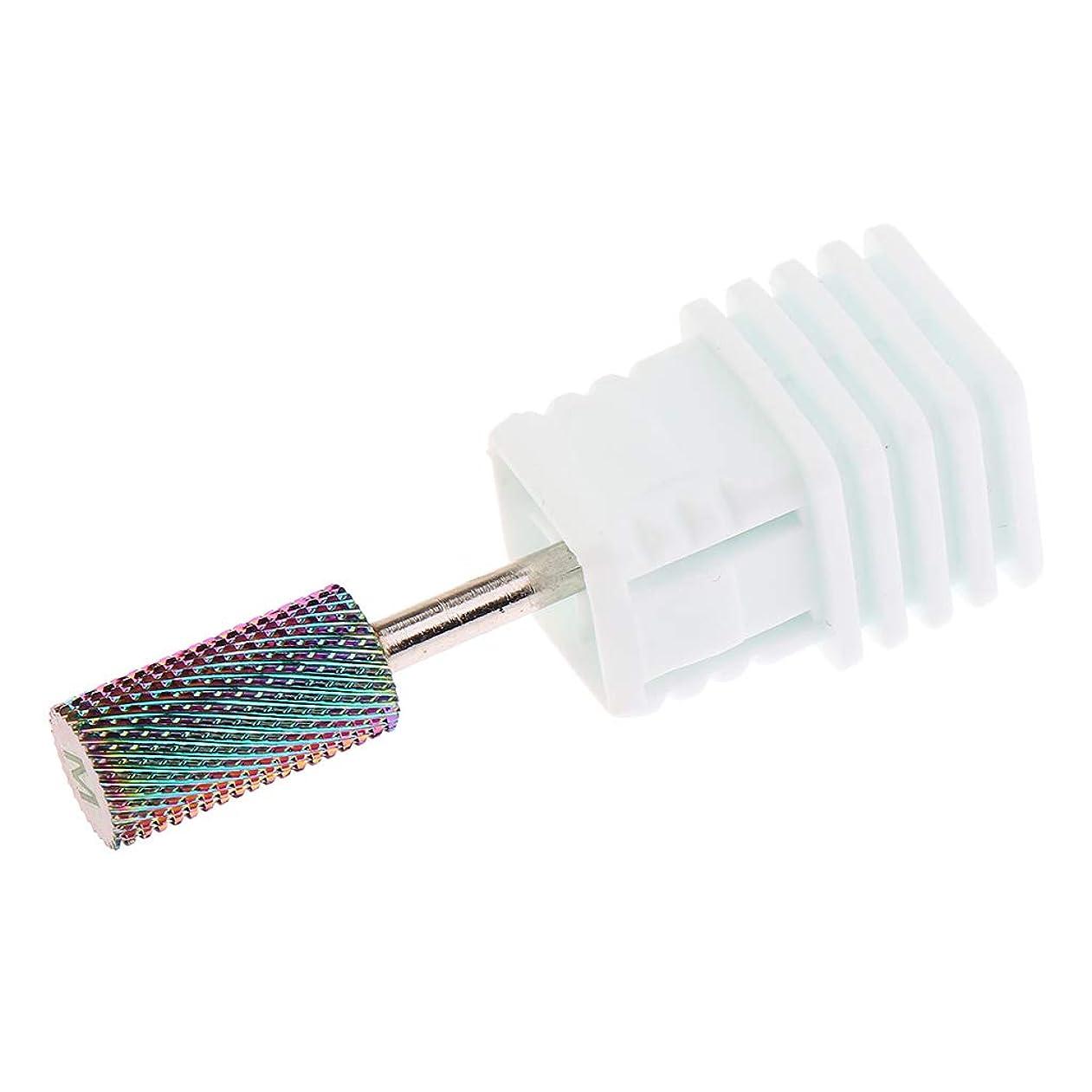文明化シーサイド勤勉SM SunniMix 2.35mm ネイルドリルビット 電気ネイルドリルビット 爪やすり 穴あけ工具 6サイズ選択 - M