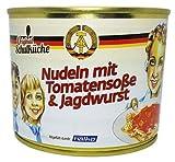 Original Schulküche Nudeln mit Tomatensoße & Jagdwurst (2 x 500g)