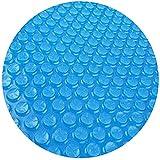 Cubierta para piscina Hinchable, Marco de lona Solar para Piscina para Calentamiento agua Protección UV Cubierta Solar Piscina, Cubierta Solar para Piscinas Easy Set ( Color : Blue , Size : 366cm )