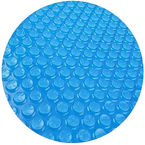 Cubierta para piscina Hinchable, Marco de lona Solar para Piscina para Calentamiento agua Protección UV Cubierta Solar Piscina,...
