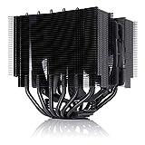 Noctua NH-D15S chromax.Black, Disipador de CPU de Doble Torre con NF-A15 PWM 140 mm Ventilador (Negro)