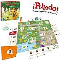 Pillado (Ludilo) Juego cooperativo de detectives, Juego de mesa muy divertido para los más pequeños. Juegos de mesa para niños, Juegos educativos