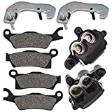 NICHE Front Left Right Hand Brake Caliper Kit For 2012-2018 Can-Am Outlander 650 1000 570 850 Outlander Max...