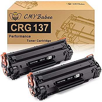 CMYBabee Compatible Toner Cartridge Replacement for Canon 137 CRG137 9435B001AA ImageClass MF236n D570 LBP151dw MF247dw MF249dw MF232w MF244dw MF216n MF217w MF212w MF227dw MF229dw  Black 2-Pack
