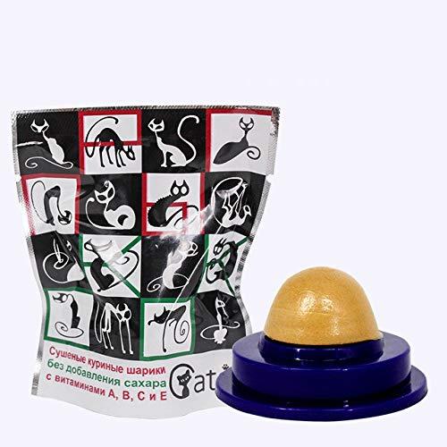 Kattenkruid speelgoed in de vorm van suiker in energie Jack, vast voedsel, voedzame snacks, kat behandelt, natuurlijke snack, fudge bal,1